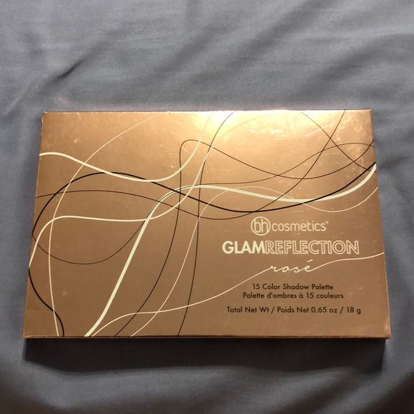 Bh Cosmetics Glam Reflection Rose Palette Nwt